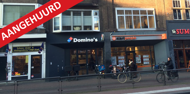 Potterstraat 12, Utrecht t.b.v. Domino's Pizza